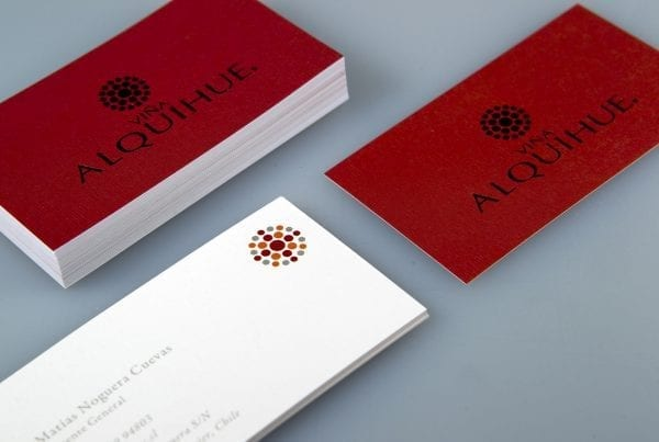 TARJETAS ALQUIHUE business card design