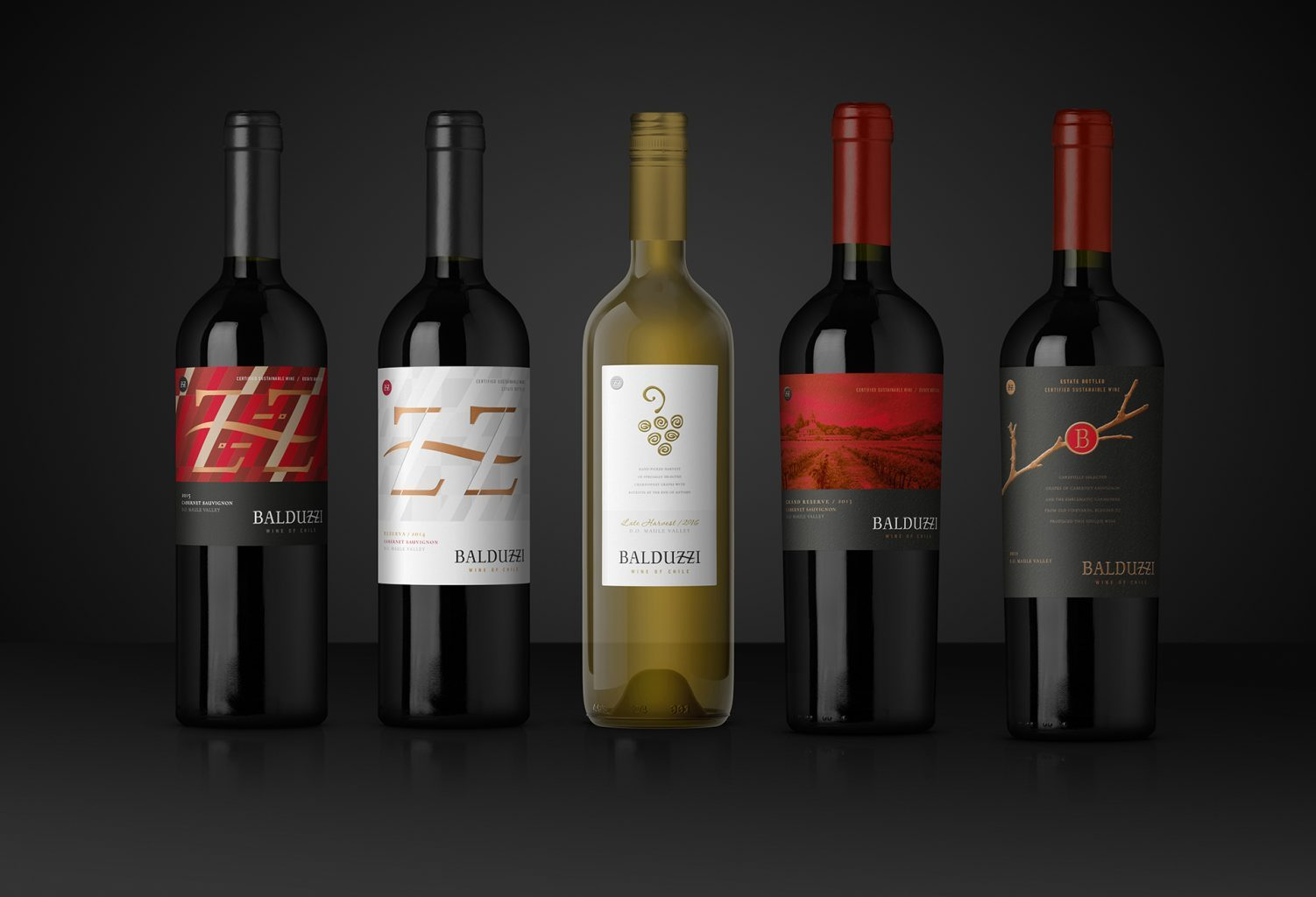 Exclusive collection Balduzzi wine