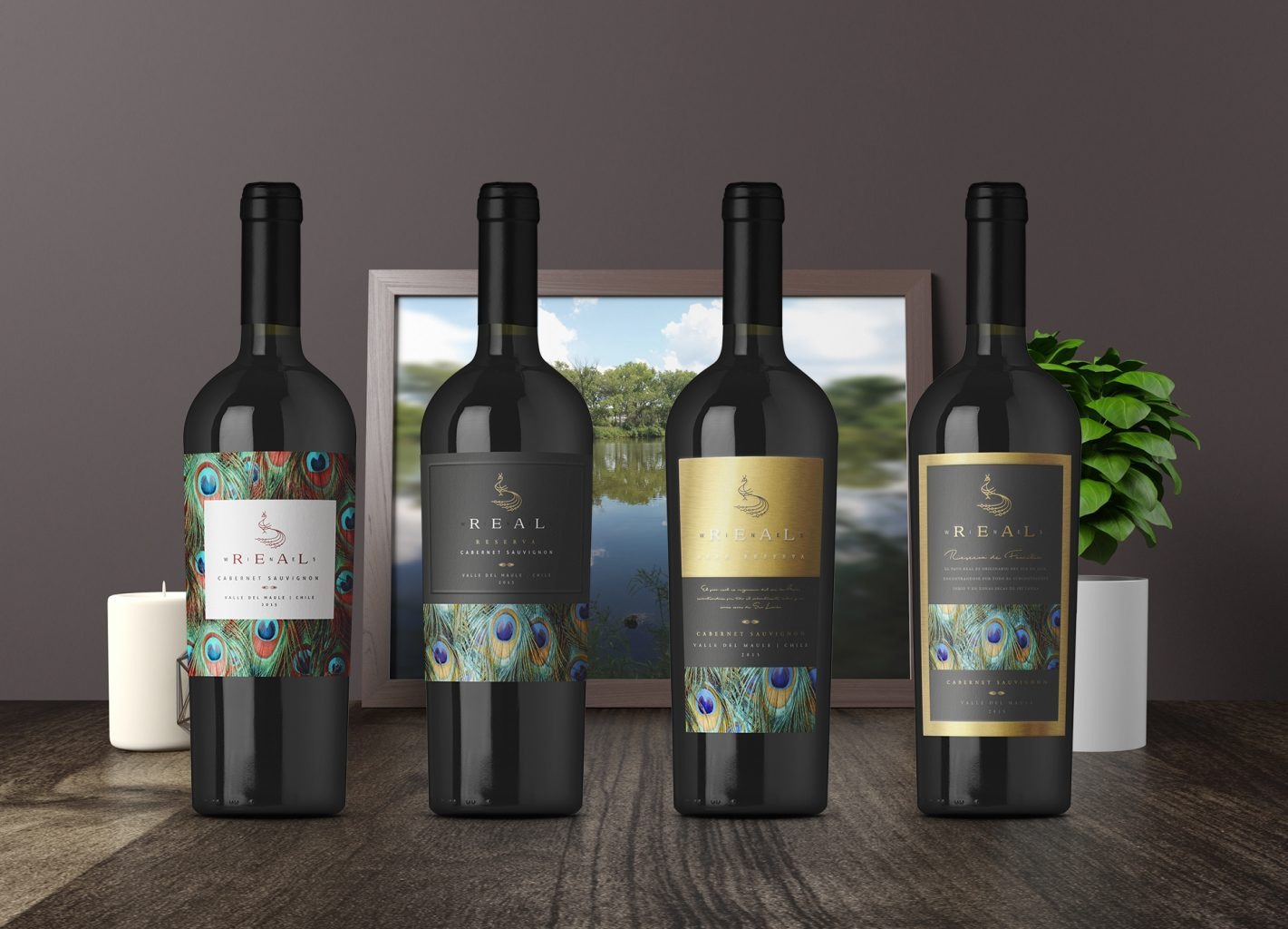 Diseño de etiqueta de vino, packaging, wine label design, 葡萄酒标签设计