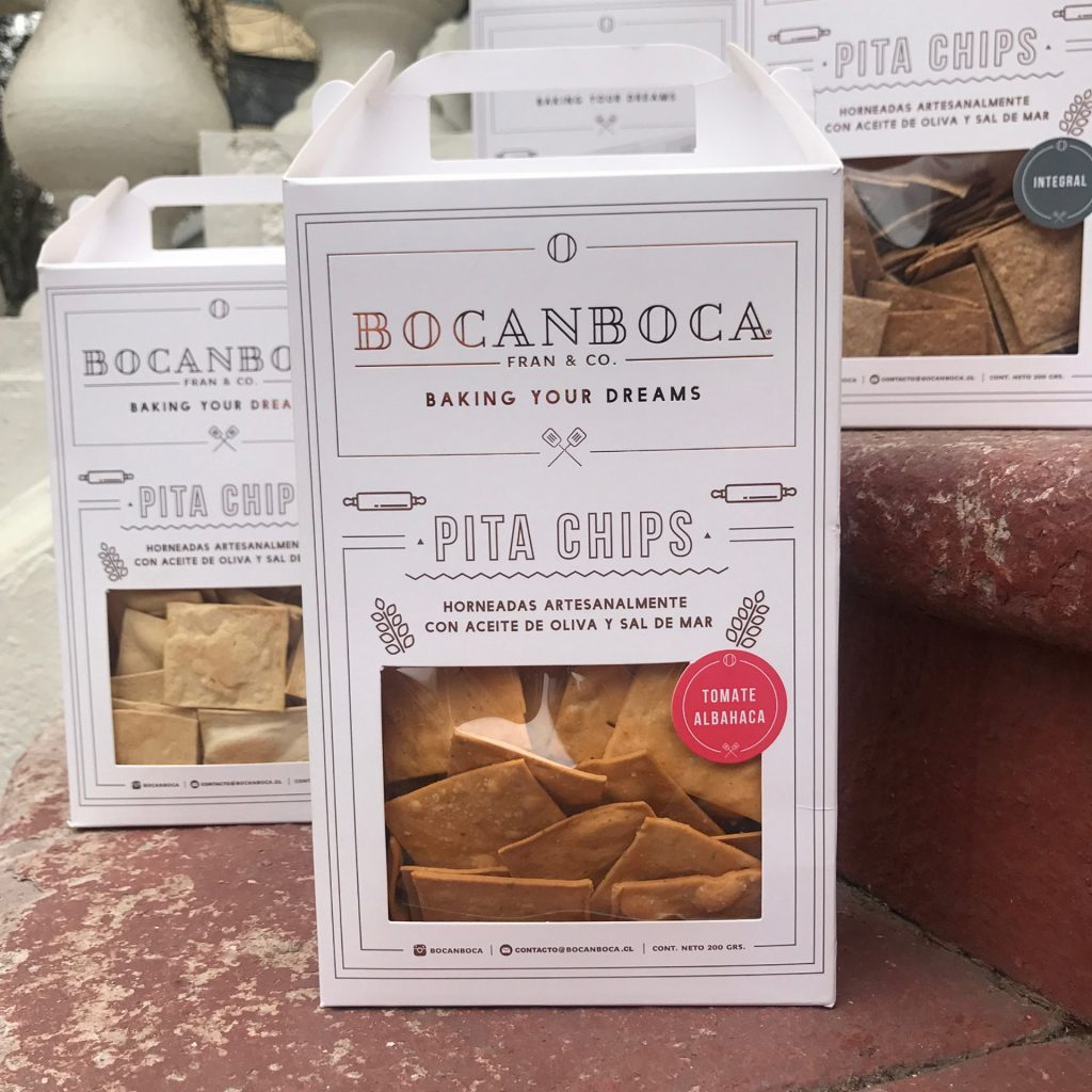 packaging pita chips para bocanboca