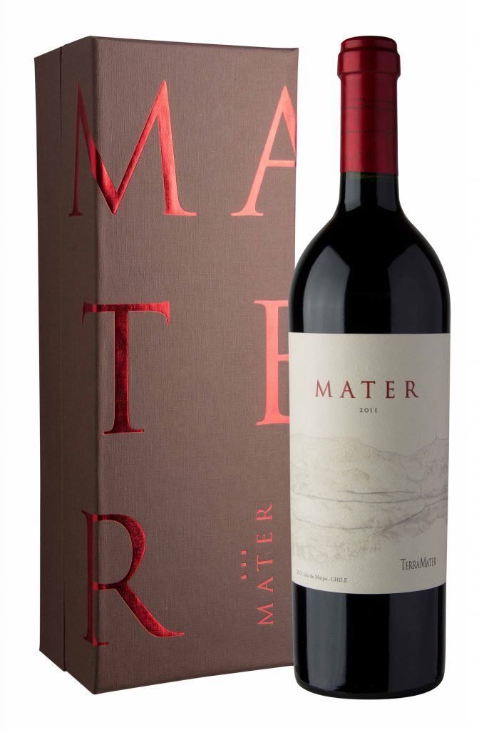 Diseño de Packaging box para vino Terra Mater