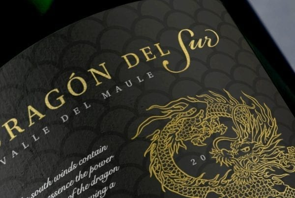 Label design Dragon del sur Chinese market